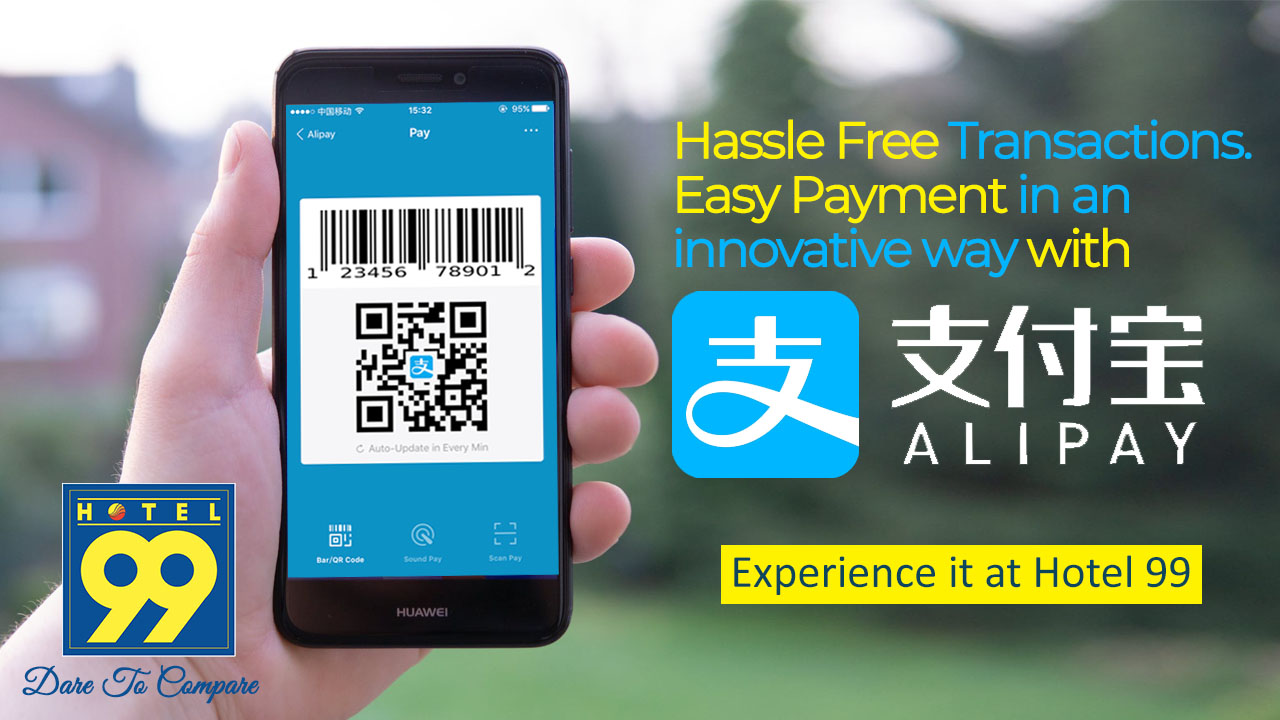 Hotel 99 now accepts Alipay and WeChat Pay!!! - hotel 99